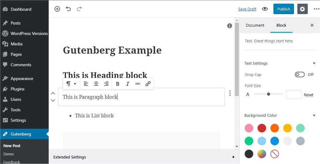 WordPress 5.0古德堡Block Editor切换回经典编辑器Classic Editor-苏醒