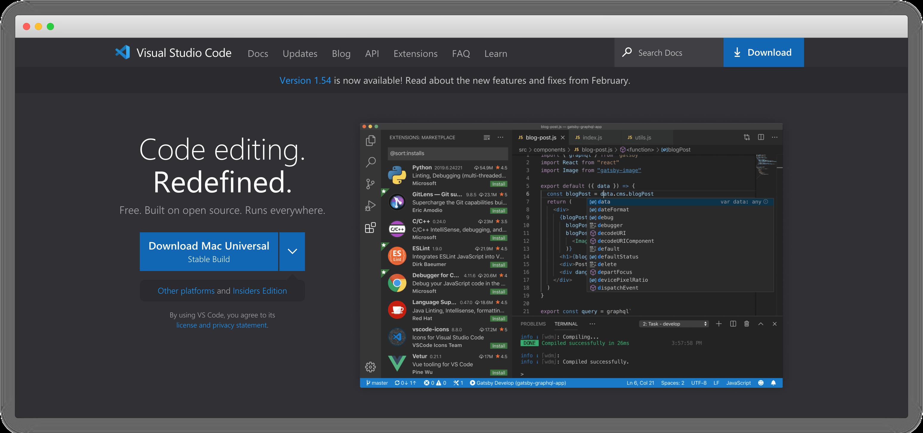 Visual Studio Code 常用插件-苏醒